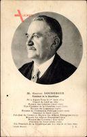 Gaston Doumergue, Von 1924 bis 1931 französische Staatspräsident
