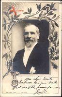Passepartout Émile François Loubet, Französischer Staatspräsident, Portrait
