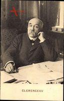 Georges Clemenceau, Französischer Politiker, Premierminister