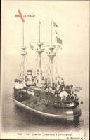 Französisches Kriegsschiff, Le Courbet, Cuirassé à fort central