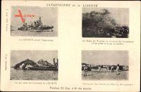 Catastrophe de la Liberté, Explosion, 25  Sept., Schiffswrack