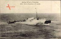 Französisches Kriegsschiff, Marine Militaire, Contre Torpilleur