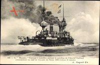 Französisches Kriegsschiff, Masséna, Cuirassé à tourelles