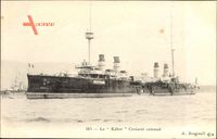 Französisches Kriegsschiff, Kéber, Croiseur cuirassé, Marine Militaire