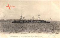Französisches Kriegsschiff, Marine Militaire, Masséna, Cuirassé