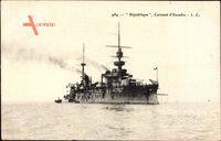 Französisches Kriegsschiff, République, Cuirassé dEscadre