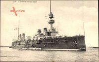 Französisches Kriegsschiff, Le Croiseur cuirassé, Condé