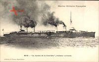 Französisches Kriegsschiff, Le Jurien de la Gravière, Croiseur cuirassé