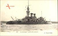 Französisches Kriegsschiff, Jemmapes, Garde Côtes cuirassé