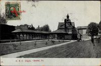Chester Pennsylvania USA, BO Depot, Bahnhof, Railway Station