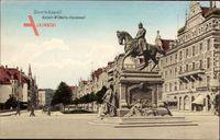 Gdańsk Danzig, Dominikswall, Kaiser Wilhelm Denkmal