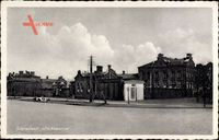 Sieradz Schieratz Polen, Alte Kaserne, Straßenpartie