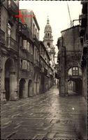 Santiago de Compostela Galicien Spanien, Rua del Villar, Villar Street
