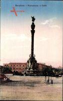 Barcelona Katalonien, Monumento a Colon, Denkmal