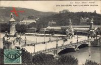 Donostia San Sebastián Baskenland, Puente de Maria Cristina, Brücke