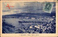 Palma de Mallorca Balearische Inseln, Puerto y Bellver, Panorama, Hafen