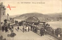 Donostia San Sebastián Baskenland, Terraza del Monte Igueldo