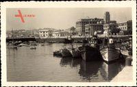 A Coruña Galicien, La Darsena, Boote im Hafen