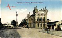 Barcelona Katalonien, Aduana y Monumento a Colon