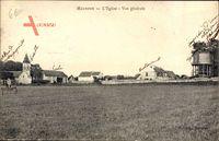 Malnoue Seine et marne, LÉglise, Vue générale, Wasserturm