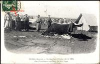 Oudjda Oujda Marokko, Occupation, Avril 1907, Tiralleurs, Camp de Sidi Yaya