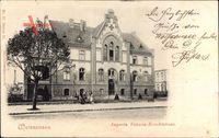 Berlin Weißensee, Blick auf das Augusta Victoria Krankenhaus