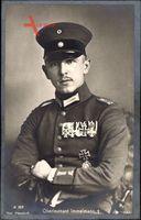 Jagdflieger Oberleutnant Max Immelmann, Portrait, Orden