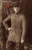 Jagdflieger Oswald Boelcke, Sanke 363, Militärpilot, Merité Orden