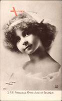 Prinzessin Marie José de Belgique, Portrait, Tochter Albert I.