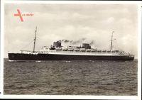 Dampfschiff Bremen, Norddeutscher Lloyd Bremen, Ansicht Backbord