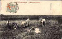 La Vie Champêtre, Les Moissonneurs, Strohernte in Frankreich
