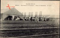 Boran Oise, Boulangerie de Campagne, Fours et Panneterie, Militärlager