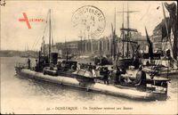 Dunkerque Nord, Torpilleur rentrant aux Bassins, Torpedoboot