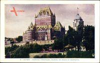 Montreal Québec Kanada, Château Frontenac, Bureau de Poste, Remparts