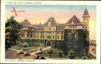 Quebec Kanada, City Hall, Hotel de Ville, Stadthaus
