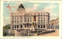 Quebec Kanada, Hotel des Postes, Haute Ville, Post Office, Upper Town