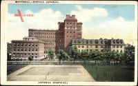 Montreal Québec Kanada, Hôpital Général, Krankenhaus, General Hospital