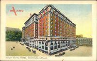 Montreal Québec Kanada, Mount Royal Hotel, Corner View