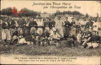 Taza Marokko, Section du 2e Bataillon du 2e Zouave, 10 Mai 1914
