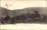 St. Denis Réunion, Vue prise à mi côte du Brûlé, Panorama