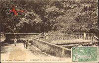 Guadeloupe, Le Pont Nozières, au Matouba, Brücke