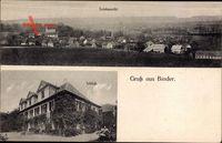 Binder Baddeckenstedt Kreis Wolfenbüttel, Totalansicht, Schloss