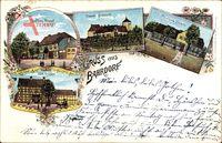 Bahrdorf Kreis Helmstedt, Kaufhaus Pohndorf, Domäne, Forsthaus