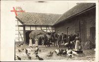 Heyen Kreis Holzminden, Bauernhof mit seinen Bewohnern