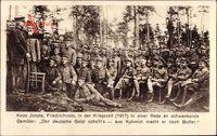 Friedrichroda Thüringer Wald, Burenkommandant Koos Jooste in der Kriegszeit