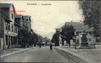 Vorsfelde Wolfsburg in Niedersachsen, Blick in die Langestraße