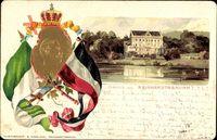 Reinhardsbrunn Friedrichroda Thüringen, Wilhelm Ernst v. Sachsen W.