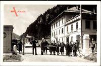 Brennergrenze, Schranke, Regia Dogana Passo Brennero