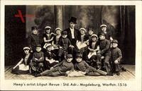 Heeps artist. Liliput Revue, Magdeburg, Werftstraße 15, Varieté