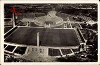 Berlin Charlottenburg, Fliegeraufnahme, Olympiastadion, Sportfeld